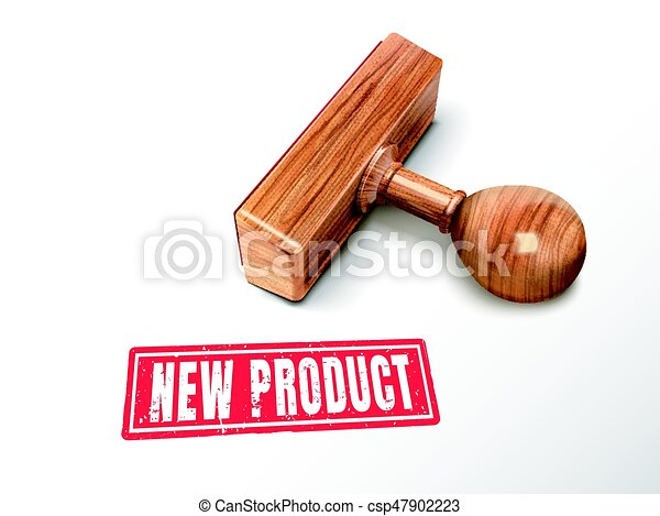 new product text and stamp - csp47902223