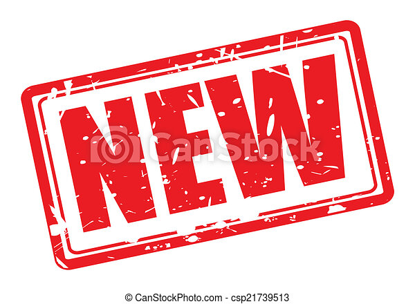 new red stamp text on white rh canstockphoto com new clipart png news clip art images