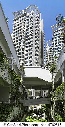 New Residential Estate - csp14762618