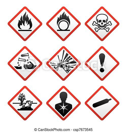 New safety symbols - csp7673545
