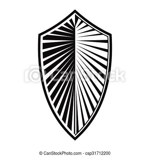 New shield simple icon - csp31712200