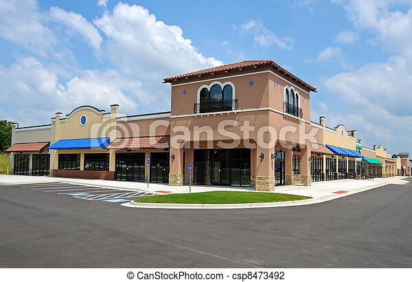 New Shopping Center - csp8473492