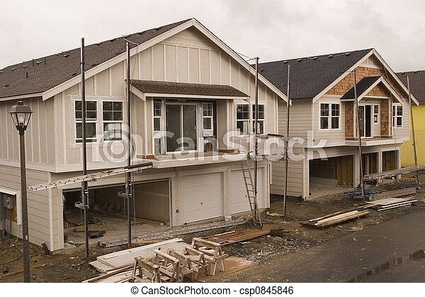 New Siding Construction - csp0845846