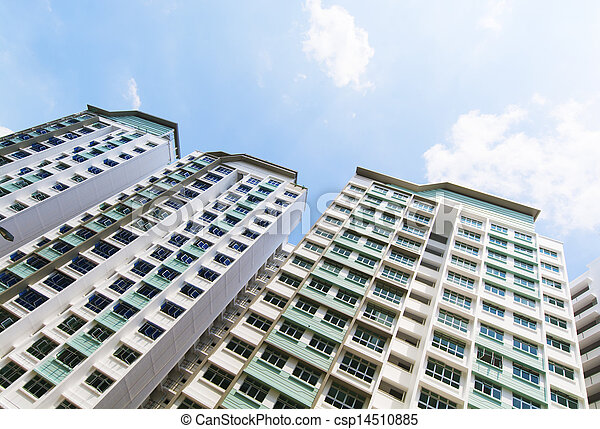 new Singapore Government apartments - csp14510885