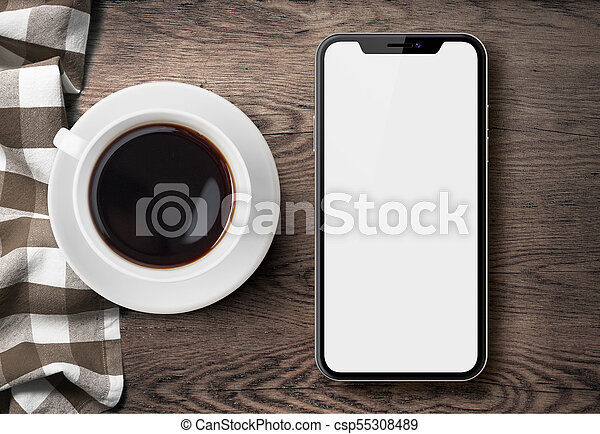 iphone x coffee