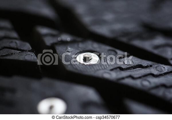 New studded tire - csp34570677