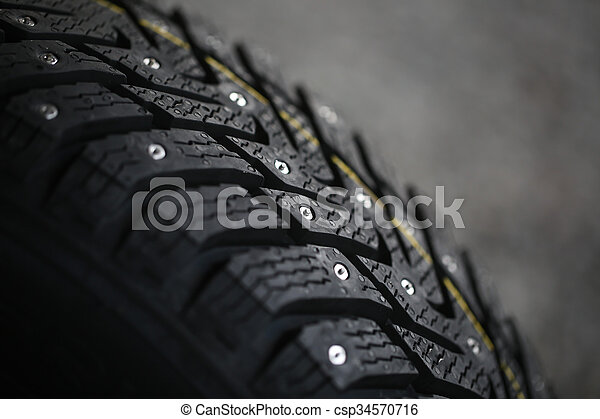 New studded tire - csp34570716