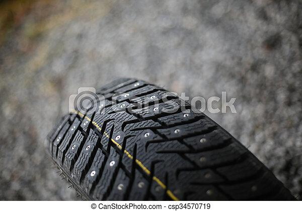 New studded tire - csp34570719