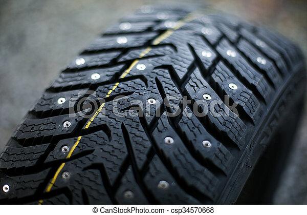 New studded tire - csp34570668
