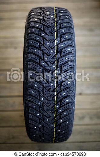 New studded tire - csp34570698
