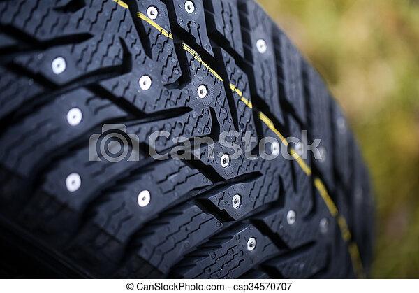 New studded tire - csp34570707