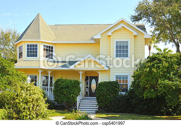 New Victorian home - csp5401997