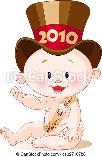 new year 2010 csp2710788