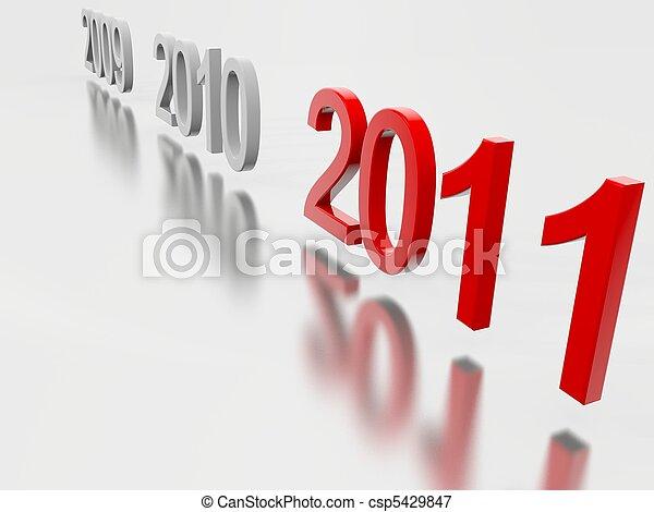 New Year 2011 - csp5429847