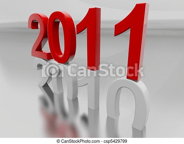 New Year 2011 - csp5429799