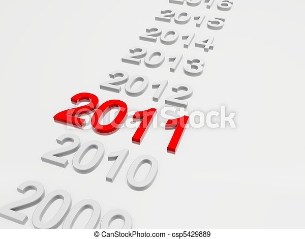 New Year 2011 - csp5429889
