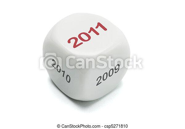 New Year 2011 - csp5271810