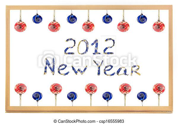 New Year 2012 - csp16555983