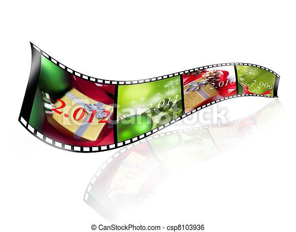 new year, 2012 - csp8103936