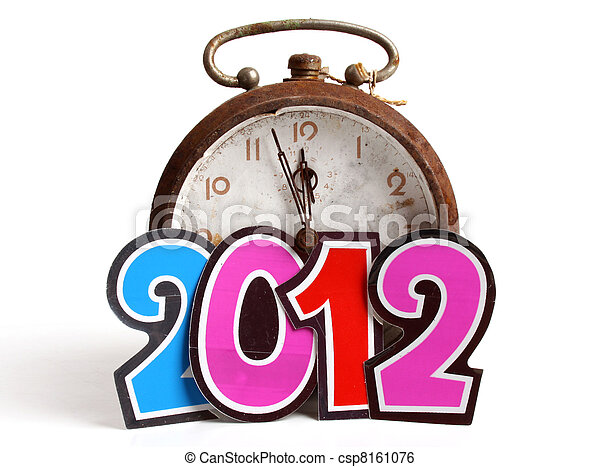 New Year 2012 - csp8161076