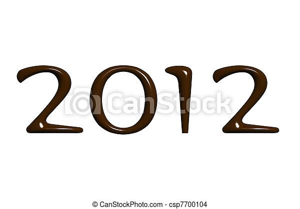 new year 2012 - csp7700104