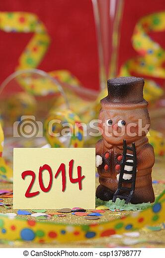 new year 2014 - csp13798777