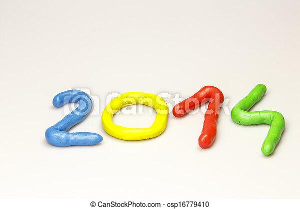 New Year 2014 - csp16779410