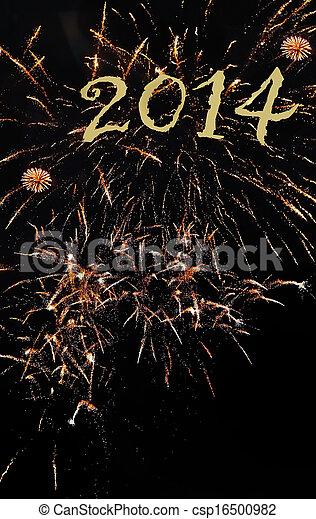 new year 2014 - csp16500982