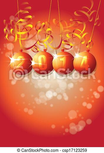 New Year 2014 - csp17123259