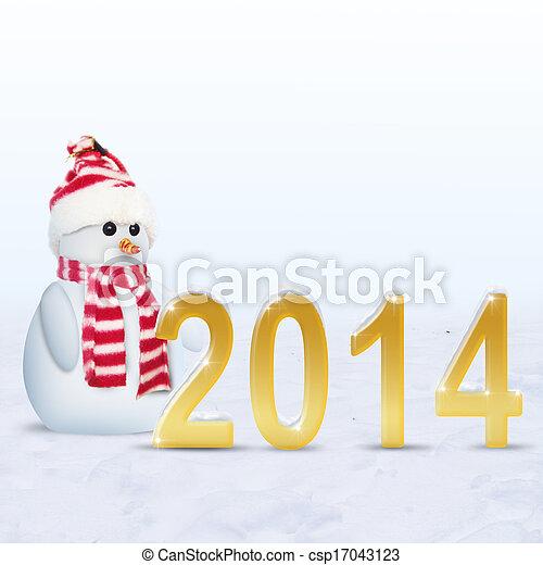 new year 2014 - csp17043123