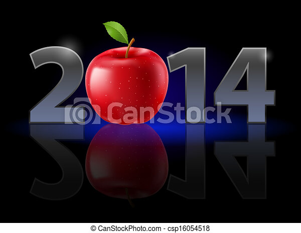 New Year 2014 - csp16054518