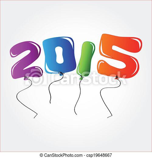 New Year 2015 - csp19648667