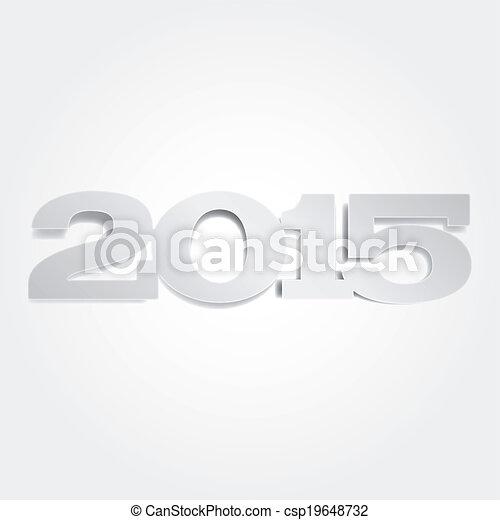 New Year 2015 - csp19648732