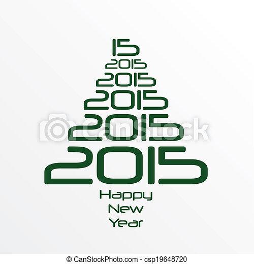 New Year 2015 - csp19648720