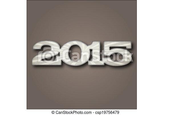 New Year 2015 - csp19756479