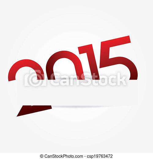 New Year 2015 - csp19763472