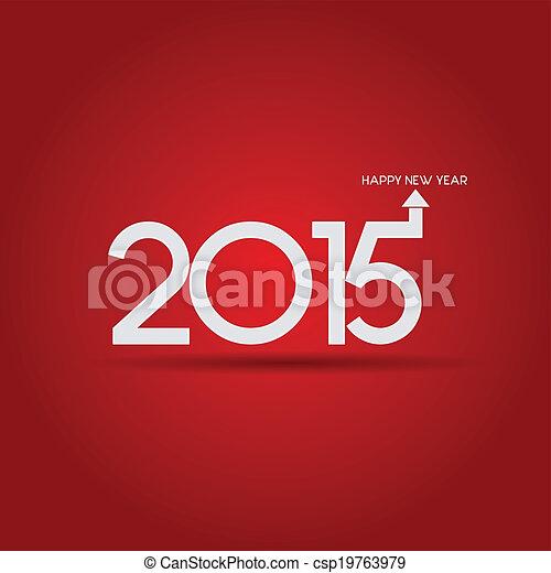 New Year 2015 - csp19763979