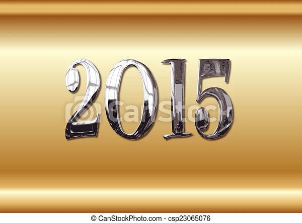 NEW YEAR 2015 - csp23065076