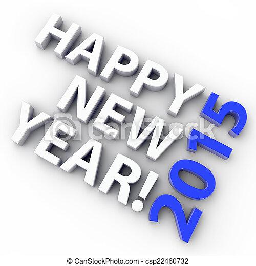 New Year 2015 - csp22460732