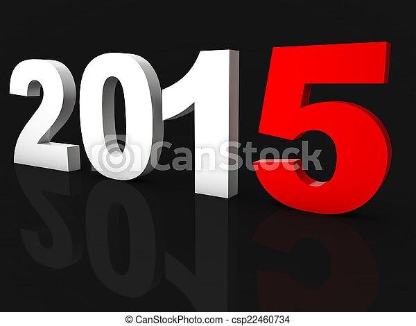 New Year 2015 - csp22460734
