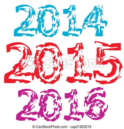 New Year 2015 - csp21823219