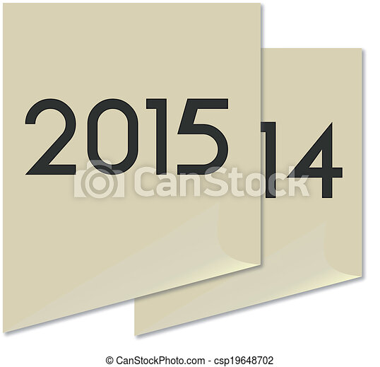 New Year 2015 - csp19648702