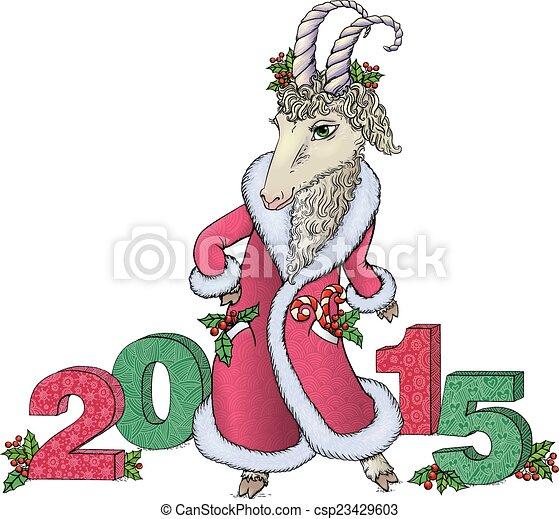 New year 2015 - csp23429603