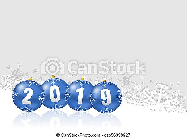 New year 2019 - csp56338927