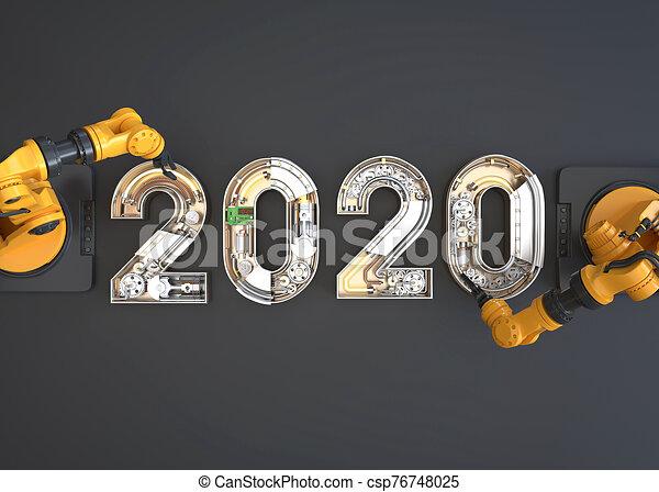 New year 2020 - csp76748025