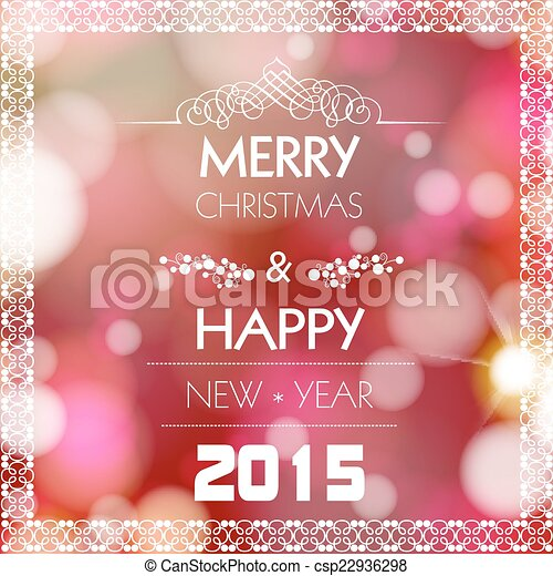 New year and christmas greeting card design easy editable new year and christmas greeting card design easy editable csp22936298 m4hsunfo