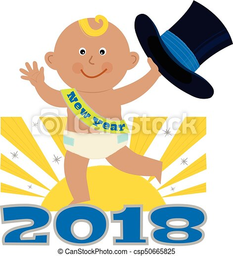 New Year Baby - csp50665825
