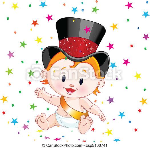 New Year baby - csp5100741