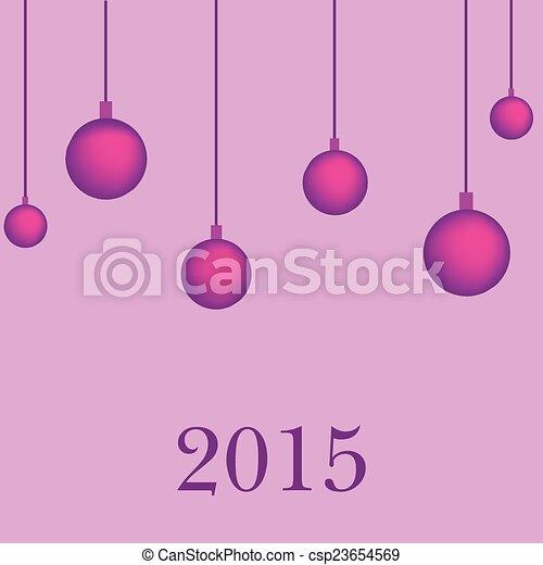 New year background 2015 - csp23654569