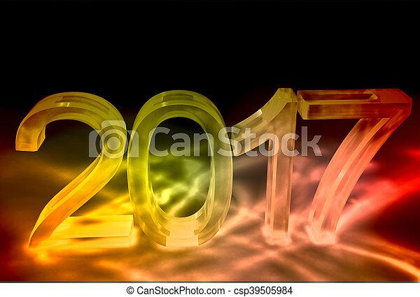 New year background - csp39505984